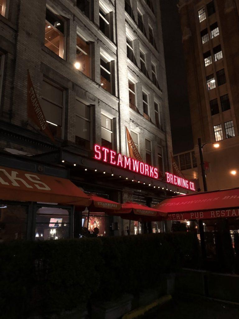 バンクーバーのレストラン